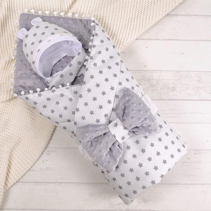 Купить Конверты на выписку, СуперМаМкет Конверт-одеяло Звездочки (демисезон)