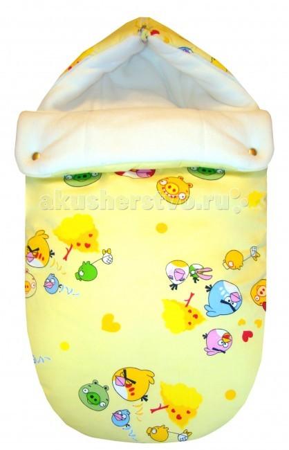 Детская одежда , Демисезонные конверты СуперМаМкет JustCute Злые птицы (весна) арт: 61716 -  Демисезонные конверты