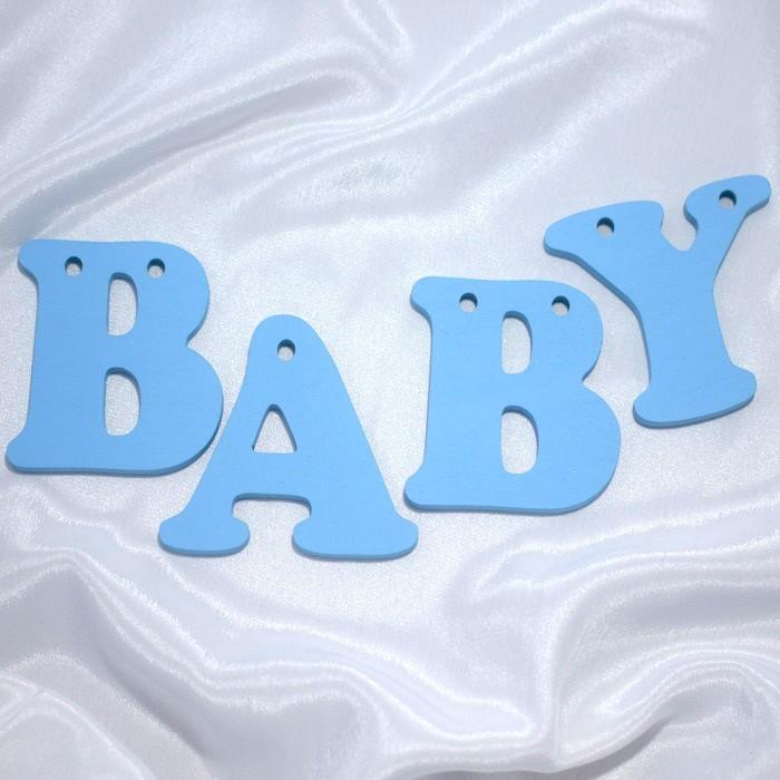 Декорирование Suvenirrus Декоративное слово Baby (буквы по отдельности)