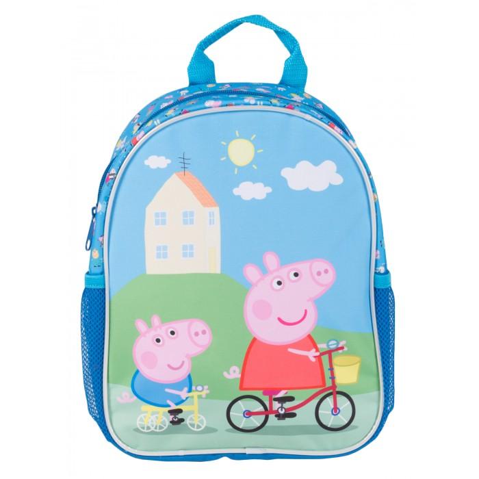Школьные рюкзаки Свинка Пеппа (Peppa Pig) Рюкзачок Классика средний сумки для детей свинка пеппа peppa pig рюкзачок малый
