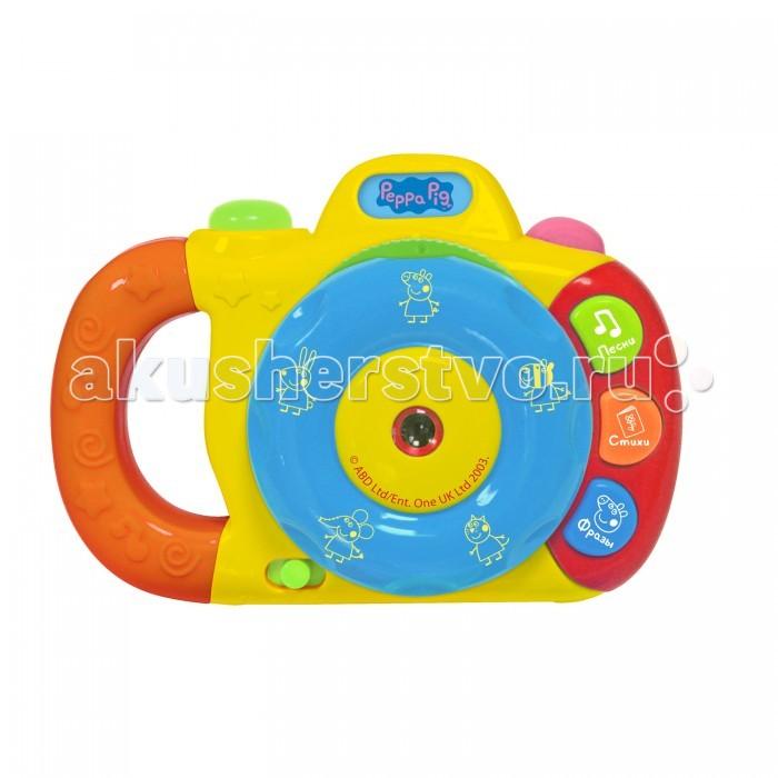 Электронные игрушки Свинка Пеппа (Peppa Pig) Музыкальный фотоаппарат с проектором фотоаппарат