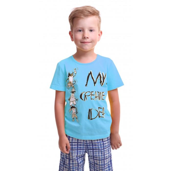 Футболки и топы Свiтанак Футболка для мальчика Р108718 футболки и топы свiтанак футболка для мальчика р108702