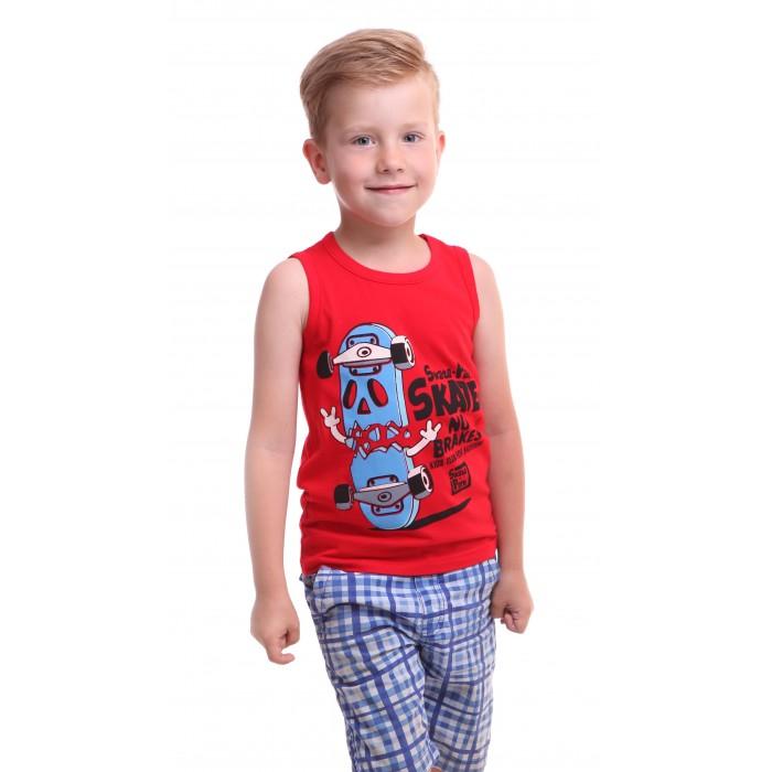 Футболки и топы Свiтанак Майка для мальчика Р108711 футболки и топы свiтанак футболка для мальчика р108702