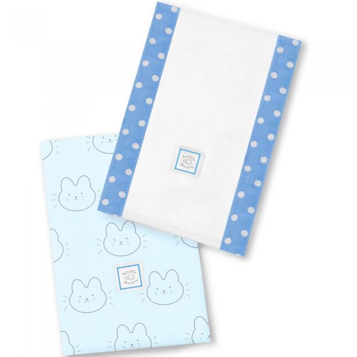 Текстильные салфетки SwaddleDesigns Полотенчики Baby Burpie Baby Bunnie текстильные салфетки swaddledesigns полотенчики baby burpie gray doggie