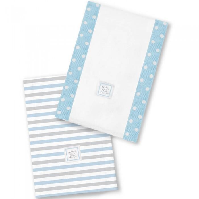 Текстильные салфетки SwaddleDesigns Полотенчики Baby Burpie Simple Stripes текстильные салфетки swaddledesigns полотенчики baby burpie gray doggie
