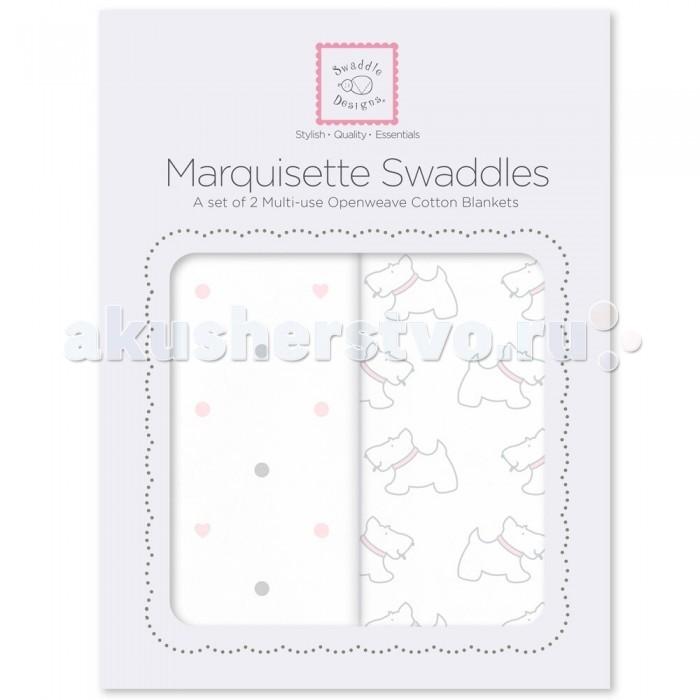 Пеленка SwaddleDesigns Marquisette Swaddling Blanket 2 шт.