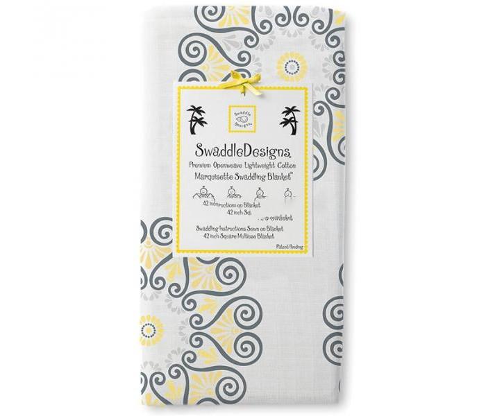 где купить Пеленки SwaddleDesigns Marquisette Swaddling Blanket по лучшей цене