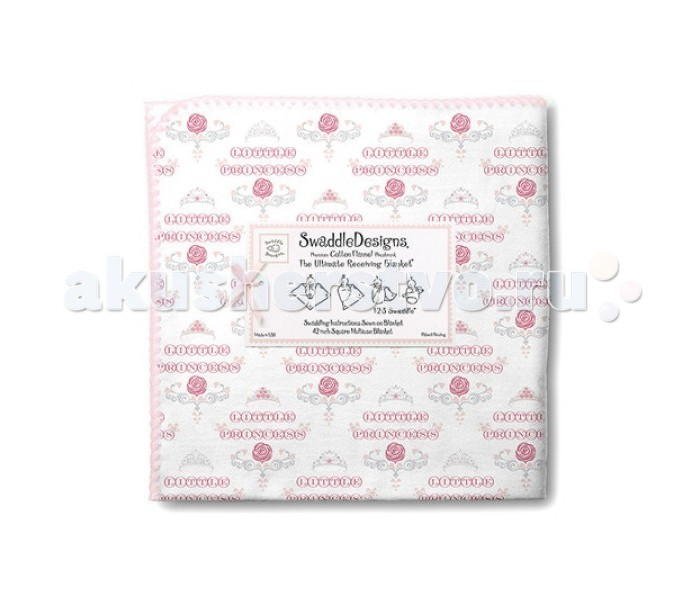 Пеленки SwaddleDesigns Ultimate Receiving Blanket swaddledesigns ultimate bonjour bunnie pink