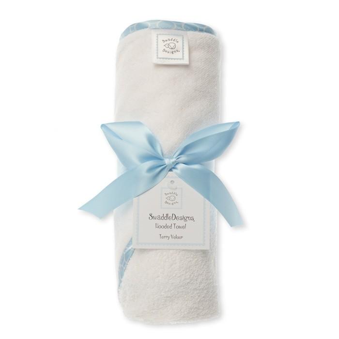SwaddleDesigns Полотенца с капюшоном Hooded Towel
