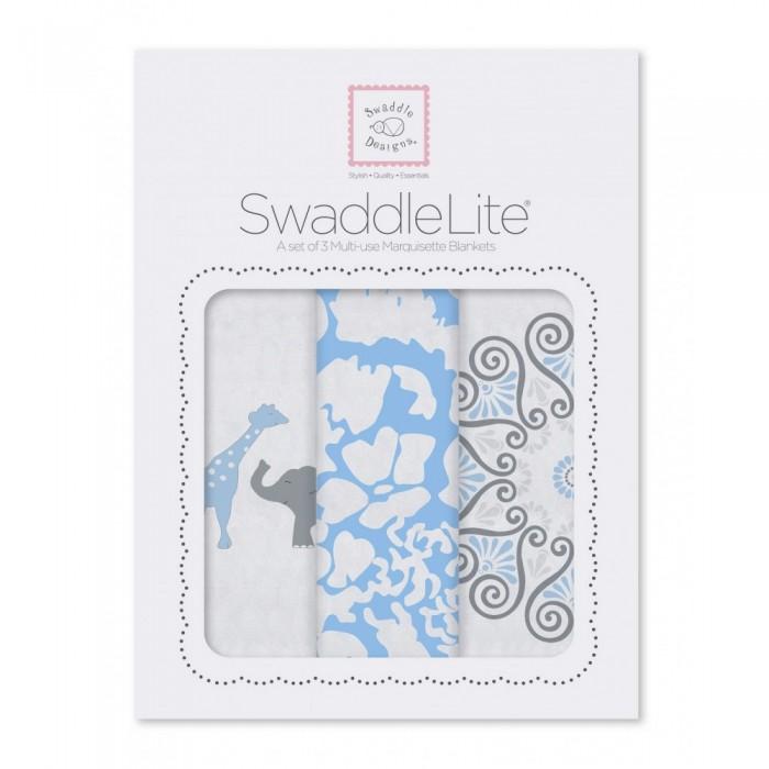 Пеленка SwaddleDesigns SwaddleLite Lush комплект 3 шт.