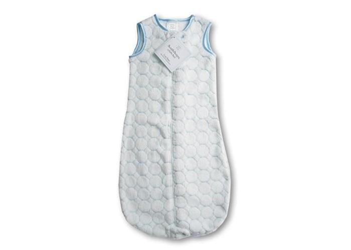 Спальный конверт SwaddleDesigns zzZipMe уютный плюш 3-6 мес.zzZipMe уютный плюш 3-6 мес.Спальный конверт zzZipMe уютный плюш предназначен для сна при температуре окружающей среды 18-21°С, именно при такой температуре рекомендуют спать большинство медицинских экспертов.  Мягкий, пушистый спальный мешок из теплого флиса заменит малышу одеяло, держит ножки ребенка в тепле и не сковывает движений, позволяет ребенку сладко и мирно спать всю ночь. Спальные мешки SwaddleDesigns отличное решение для детей готовых к отучению от пеленок. Рекомендованы Американской академией педиатрии.  Отличительная особенность спальных мешков для детей двойная молния которая закрывается/открывается снизу вверх и сверху вниз благодаря чему смена подгузника осуществляется столь же легко, как если бы ребенок был раздет. Молния вшита таким образом, что не касается тела ребенка, атласная окантовка спального мешка по краям.  Характеристики:  Молния вшита таким образом, что не касается тела ребенка Предназначен для сна при температуре окружающей среды 18-21°С От 3 до 6 месяцев (до 70 см) Состав: 100% флис (полиэстер)  Рекомендации по уходу: Машинная стирка при 30°С, деликатный отжим.<br>