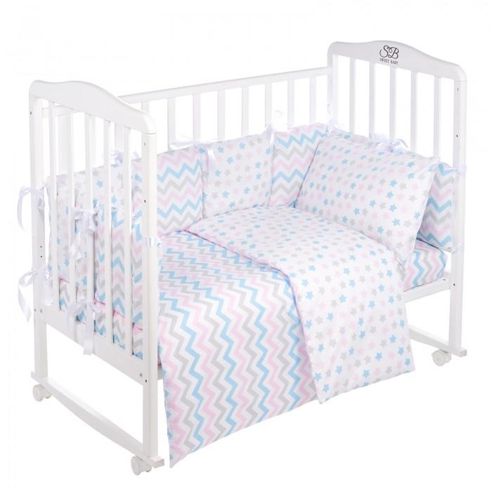 Комплект в кроватку Sweet Baby Colori (4 предмета)