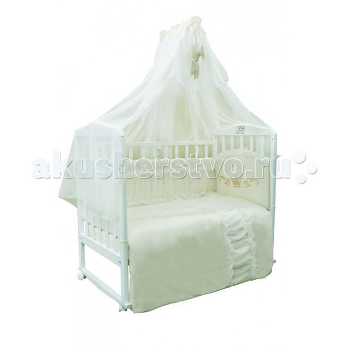 Комплекты в кроватку Sweet Baby Corona (7 предметов) комплекты в кроватку makkaroni kids sweet baby 125x65 6 предметов