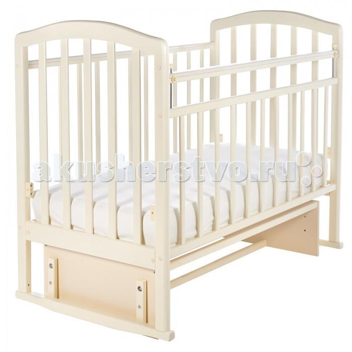 Детская кроватка Sweet Baby Emilia (маятник поперечный)  (41913)
