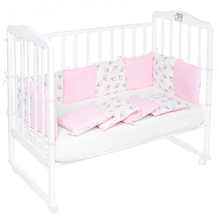 Бортики в кроватку Sweet Baby Gelato 12 частей, Бортики в кроватку - артикул:473381