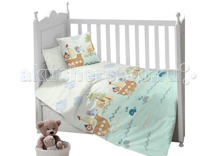 Постельное белье Sweet Baby Gioco Mare (3 предмета), Постельное белье - артикул:492976