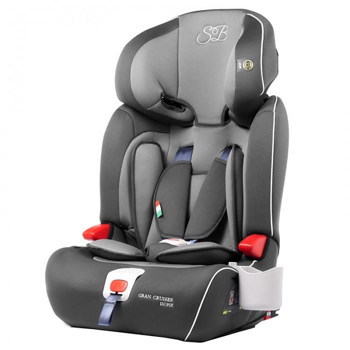 Автокресло Sweet Baby Gran Cruiser IsofixGran Cruiser IsofixАвтокресло Sweet Baby Gran Gran Cruiser Isofix является трансформером, растущим с Вашим ребенком с того момента, как он научился сидеть самостоятельно и до 12 лет. Пока ребенок маленький, используйте 5-ти точечные ремни безопасности. По мере роста ребенка, 5-ти точечные ремни снимаются, подголовник регулируется по высоте и используются 3-х точечные ремни безопасности автомобиля, чтобы пристегнуть ребенка.  Особенности: трансформируется в бустер, как только уровень глаз ребенка в автокресле стал выше верхней точки подголовника. В таком случае спинку необходимо снять. наличие системы Isofix, которая позволяет быстро, легко и надежно соединить автокресло с автомобилем без использования ремней безопасности. Это гарантирует максимальный уровень безопасности ребенка в случае инцидента на дороге. Направляющие Isofix вставляются в скобы, которые находятся под спинкой заднего сидения автомобиля. каркас автокресла покрыт энергопоглощающим пенополиэтиленом EPE Foam. В момент аварии EPE поглощает энергию удара вместо Вашего ребенка. ортопедический эффект. Пористый материал PUR Foam, содержащий в своей структуре множество микроскопических  пузырьков, дает ортопедический эффект. Нагрузка равномерно перераспределяется и поверхность идеально повторяет контуры тела. широкие эргономичные сидение и спинка. Ширина кресла 31 см, что позволяет ребенку чувствовать себя комфортно в поездке даже в зимней одежде. 6 уровней высоты подголовника. наличие мягкого вкладыша. Съемный вкладыш предназначен для самых маленьких. Снимите его когда ребенок подрастет. наличие мягких накладок на внутренних ремнях. высоту внутренних ремней можно регулировать. наличие фиксатора натяжения ремней.<br>