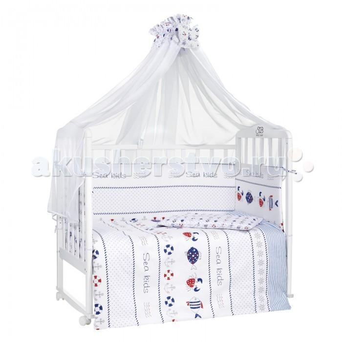 Комплекты в кроватку Sweet Baby Granchio (7 предметов) il granchio футболка