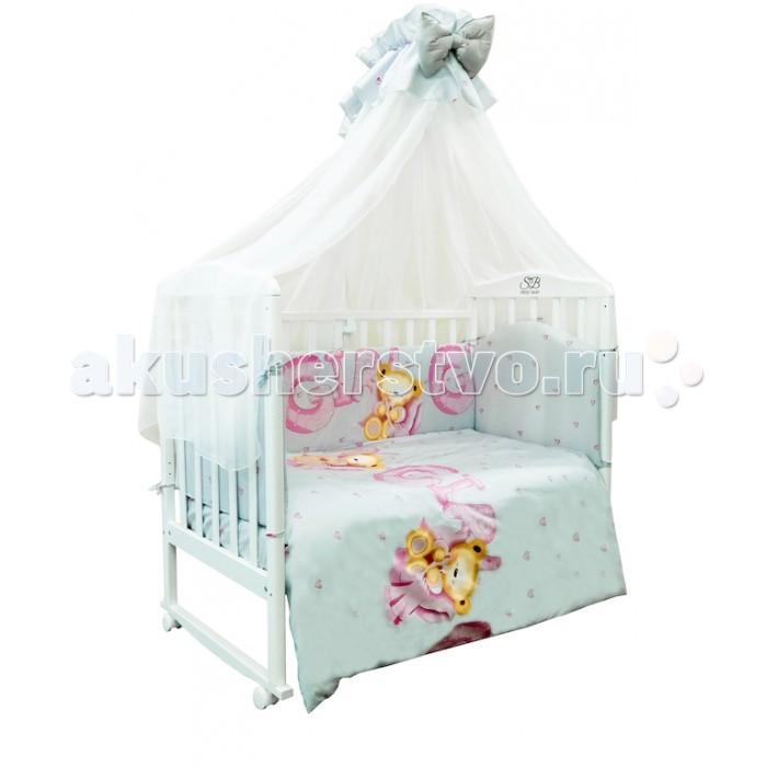 Комплекты в кроватку Sweet Baby Orso (7 предметов) комплекты в кроватку makkaroni kids sweet baby 125x65 6 предметов