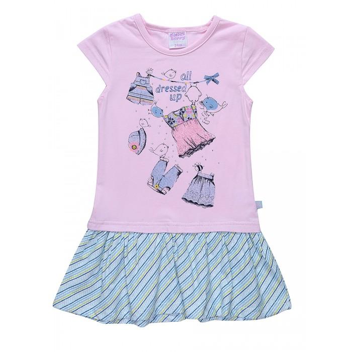 Детские платья и сарафаны Sweet Berry Платье для девочки Denim story 812083 пальто alix story alix story mp002xw13vur