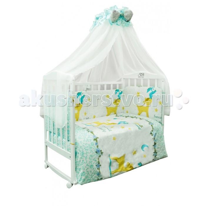 Комплекты в кроватку Sweet Baby Renna (7 предметов) комплекты в кроватку makkaroni kids sweet baby 125x65 6 предметов