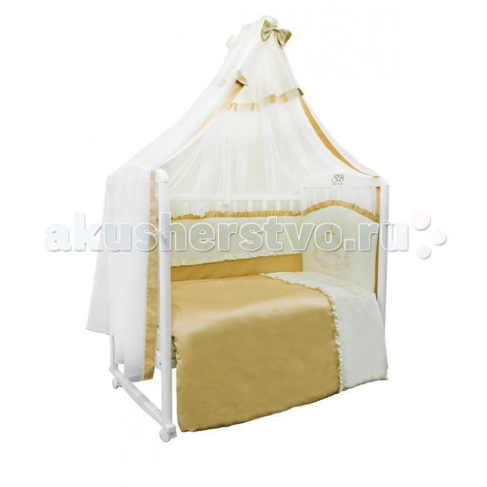 комплекты в кроватку roman baby polvere di stelle 5 предметов Комплекты в кроватку Sweet Baby Ricciolo (7 предметов)