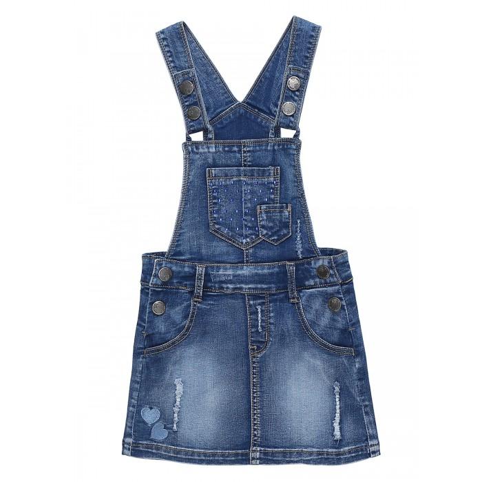 Картинка для Sweet Berry Сарафан джинсовый для девочки Denim story 812069