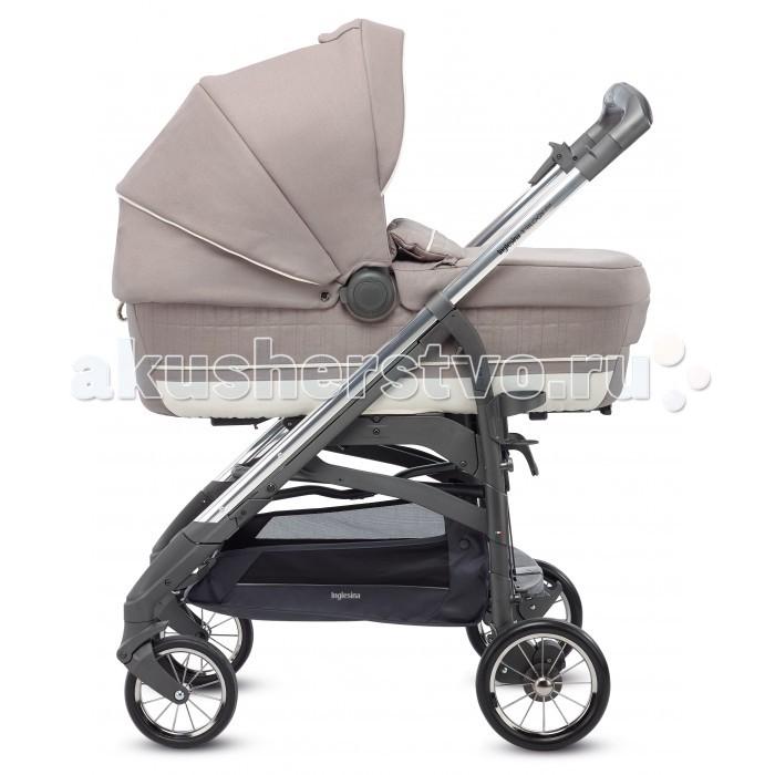Детские коляски , Коляски 3 в 1 Inglesina Trilogy Plus System Quattro 4 в 1 на шасси Trilogy Plus Chrome Slate арт: 475476 -  Коляски 3 в 1