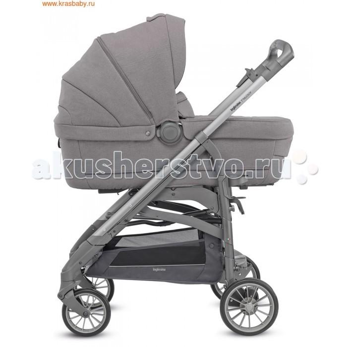 Детские коляски , Коляски 3 в 1 Inglesina Trilogy Plus System Quattro 4 в 1 на шасси Trilogy Plus Chrome White арт: 475466 -  Коляски 3 в 1