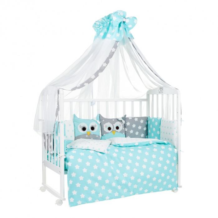 Комплекты в кроватку Sweet Baby Uccellino (7 предметов) комплекты в кроватку makkaroni kids sweet baby 125x65 6 предметов