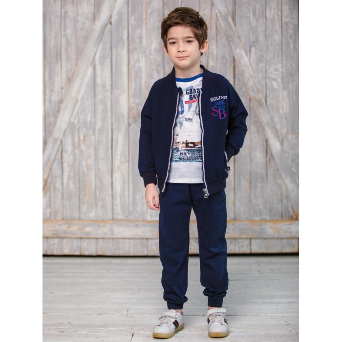 Брюки и джинсы Sweet Berry Брюки для мальчика Парусный спорт 913038