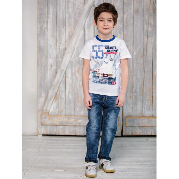Брюки и джинсы Sweet Berry Брюки джинсовые для мальчика Парусный спорт 913037