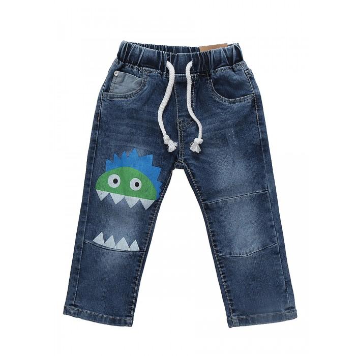 Брюки, джинсы и штанишки Sweet Berry Джинсы для мальчика Smile of monsters 811071, Брюки, джинсы и штанишки - артикул:503806
