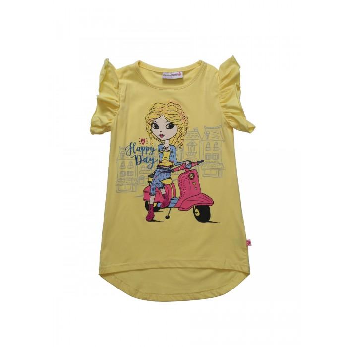 Футболки и топы Sweet Berry Футболка для девочек Сладкое настроение 814015 топы и футболки