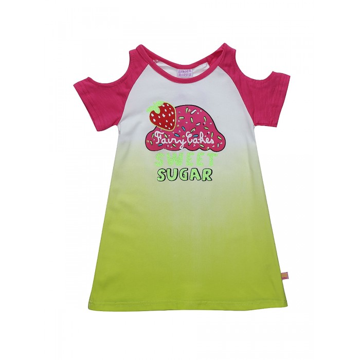 Футболки и топы Sweet Berry Футболка для девочки Sweetness 812039 шапочки и чепчики sweet berry повязка трикотажная для девочки sweetness 812055