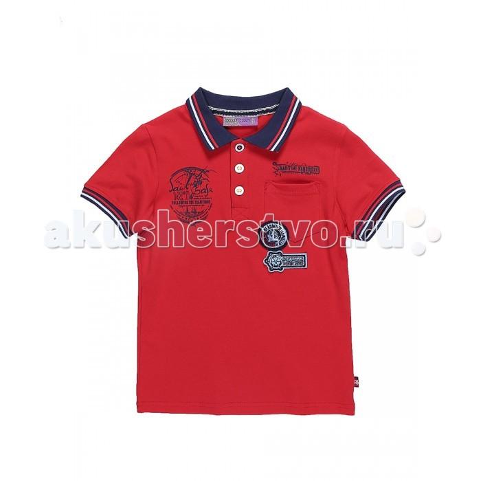 Детская одежда , Футболки и топы Sweet Berry Футболка для мальчика Морской день 813094 арт: 524106 -  Футболки и топы