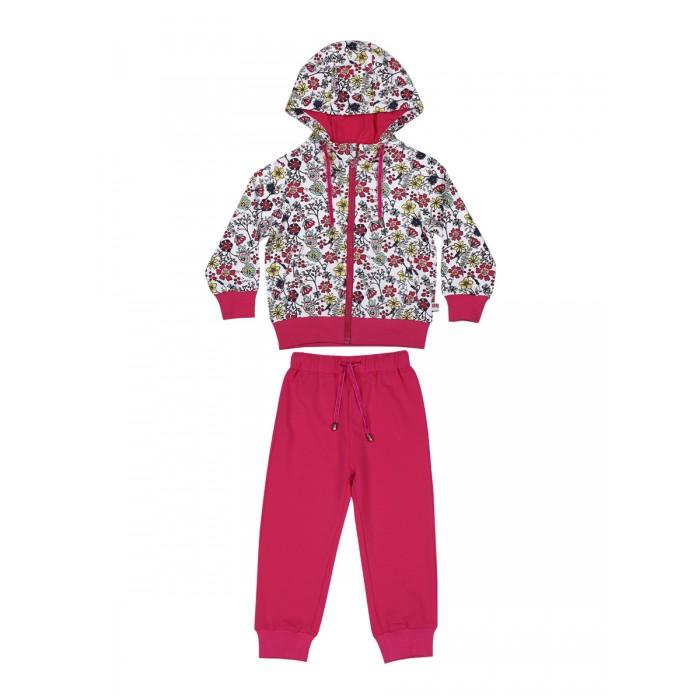 Sweet Berry Комплект для девочки (толстовка и брюки) Цветочная поляна 912013