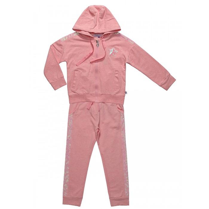Комплекты детской одежды Sweet Berry Комплект трикотажный для девочек (толстовка и брюки) Русалочка elsy толстовки для девочек с принтами