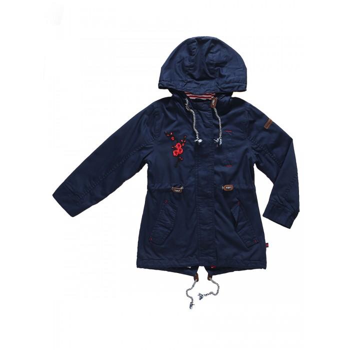 Куртки, пальто, пуховики Sweet Berry Куртка для девочки Морское путешествие 814030, Куртки, пальто, пуховики - артикул:525131
