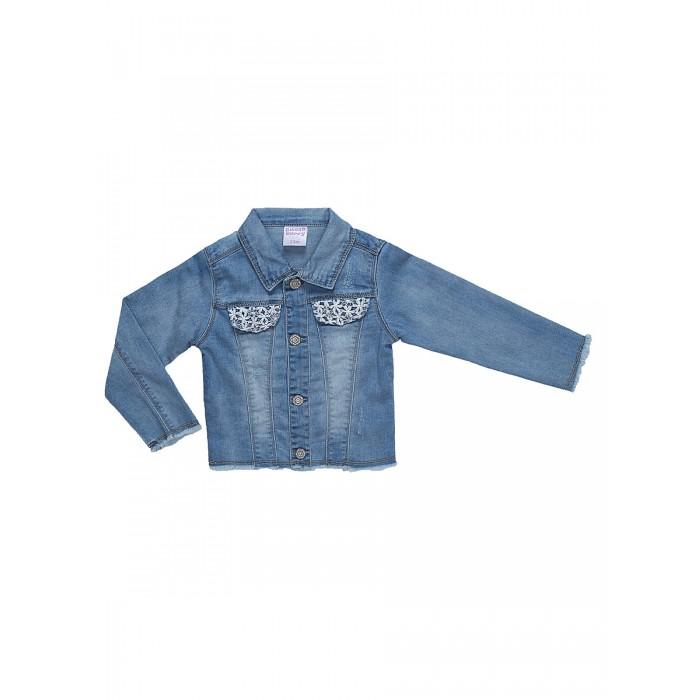 Ветровки, плащи, дождевики и жилеты Sweet Berry Куртка джинсовая для девочки Denim story 812066, Ветровки, плащи, дождевики и жилеты - артикул:508496