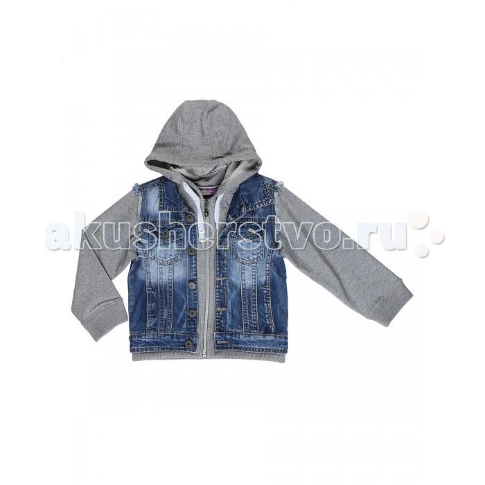 Детская одежда , Ветровки, плащи, дождевики и жилеты Sweet Berry Куртка джинсовая для мальчика Скейт-парк 813119 арт: 525971 -  Ветровки, плащи, дождевики и жилеты