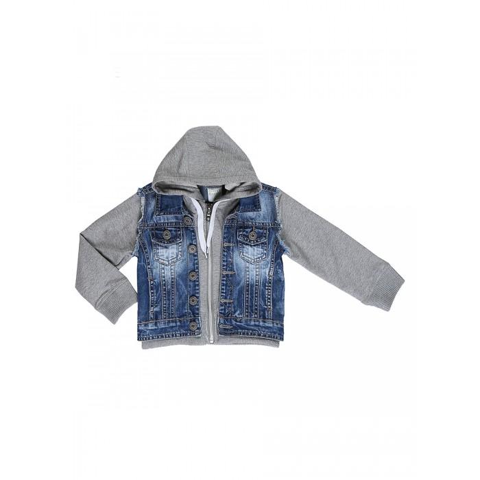 Ветровки, плащи, дождевики и жилеты Sweet Berry Куртка джинсовая для мальчика Sport college 811108, Ветровки, плащи, дождевики и жилеты - артикул:508451