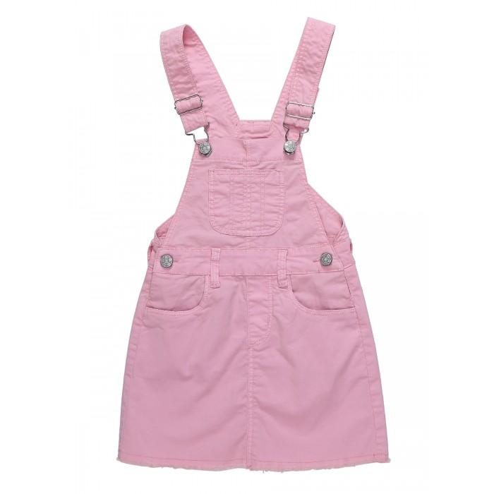 Детские платья и сарафаны Sweet Berry Сарафан джинсовый для девочек Сладкое настроение 814029, Детские платья и сарафаны - артикул:524336