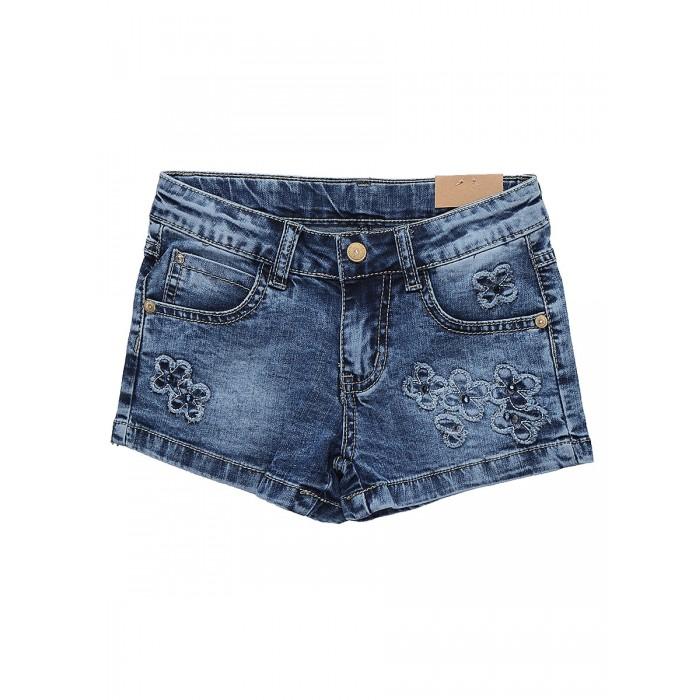 Шорты и бриджи Sweet Berry Шорты джинсовые для девочек Яркая мечта 814133, Шорты и бриджи - артикул:525966