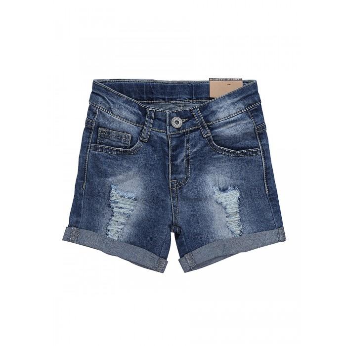 Детская одежда , Шорты и бриджи Sweet Berry Шорты джинсовые для девочки Little sea 812007 арт: 505366 -  Шорты и бриджи