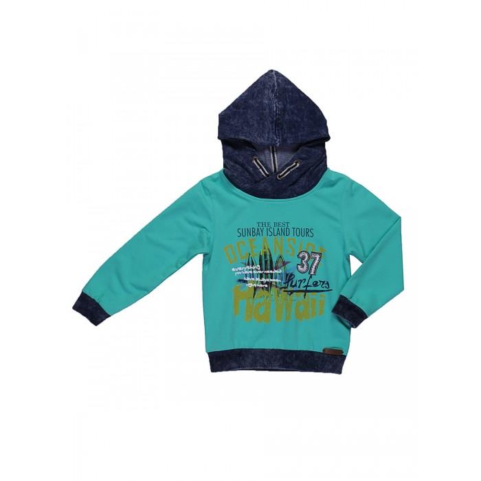 Детская одежда , Толстовки, свитшоты, худи Sweet Berry Толстовка трикотажная для мальчиков Гаваи арт: 521836 -  Толстовки, свитшоты, худи
