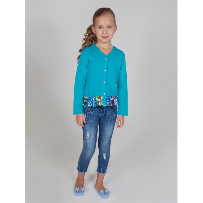 Пиджаки, жакеты, жилетки Sweet Berry Жакет трикотажный для девочек Яркая мечта 814068