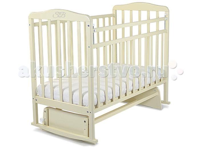 Детская кроватка Sweet Baby Ennio маятник поперечныйEnnio маятник поперечныйДетская кроватка Sweet Baby Ennio маятник поперечный станет прекрасным украшением для комнаты Вашего малыша.  Особенности: Поперечный маятник повторяет принцип люлек, которыми пользовались еще наши бабушки. Так же, он подойдет для небольших детских комнат. Кроватка оснащена специальными фиксаторами, которые приводят маятник в состояние покоя. Два уровня ложа позволяют менять глубину кроватки по мере роста малыша, опускаемая планка поможет без труда дотянуться до малыша в кроватке. Расстояние между рейками не дает возможность ребенку застрять между ними в раннем возрасте.<br>
