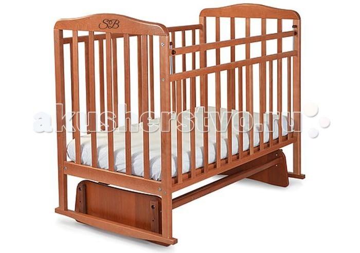 Детская кроватка Sweet Baby Ennio маятник поперечный
