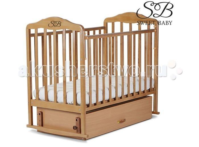 Детская кроватка Sweet Baby Gianni поперечный маятник